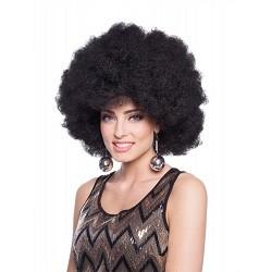 Zwarte Afro Pruik XL