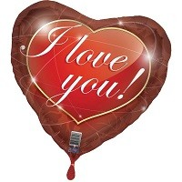 Hart Ballon I Love You - 43cm