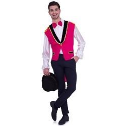 Roze Gilet Circus Heren