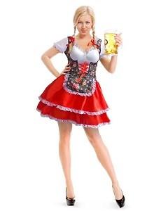 Oktoberfest dames kostuum