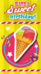 Have a sweet birthday - zomer feestje
